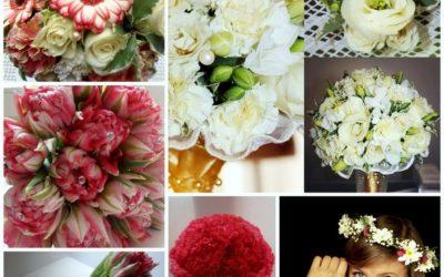 Wiązanka ślubna w stylu biedermeier – warsztaty florystyczne