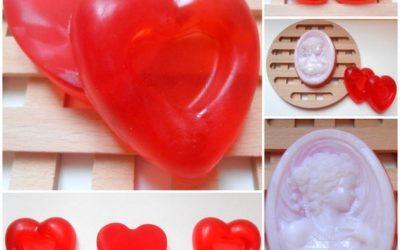 Walentynkowe mydła glicerynowe – kosmetyki ekologiczne