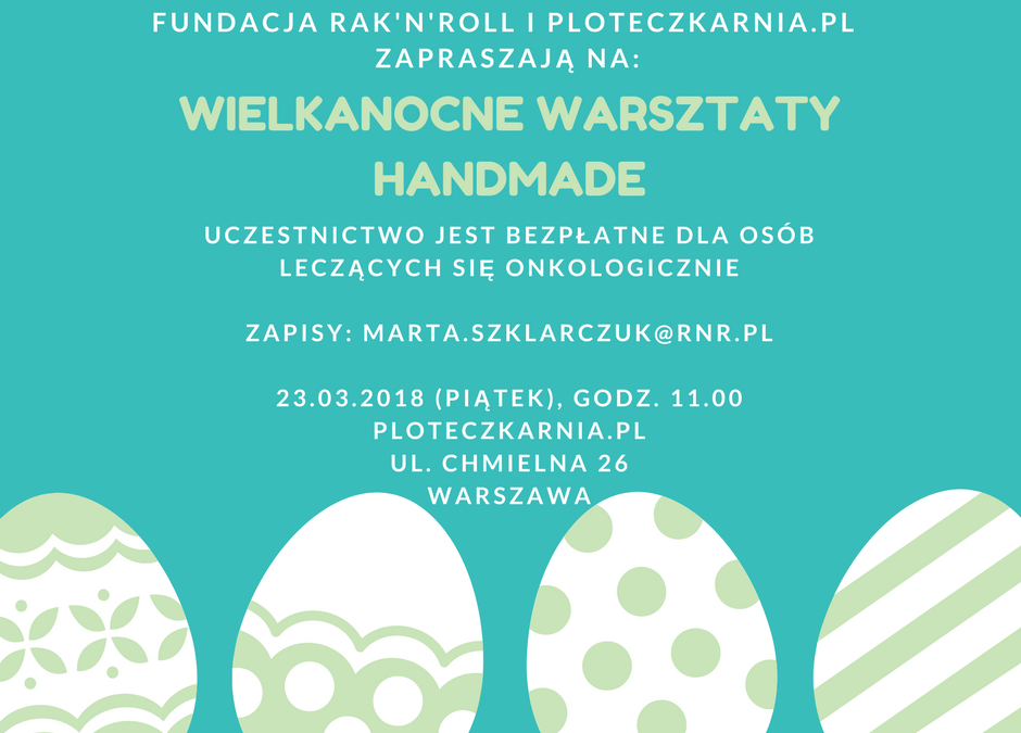 Wielkanocne Warsztaty HandMade